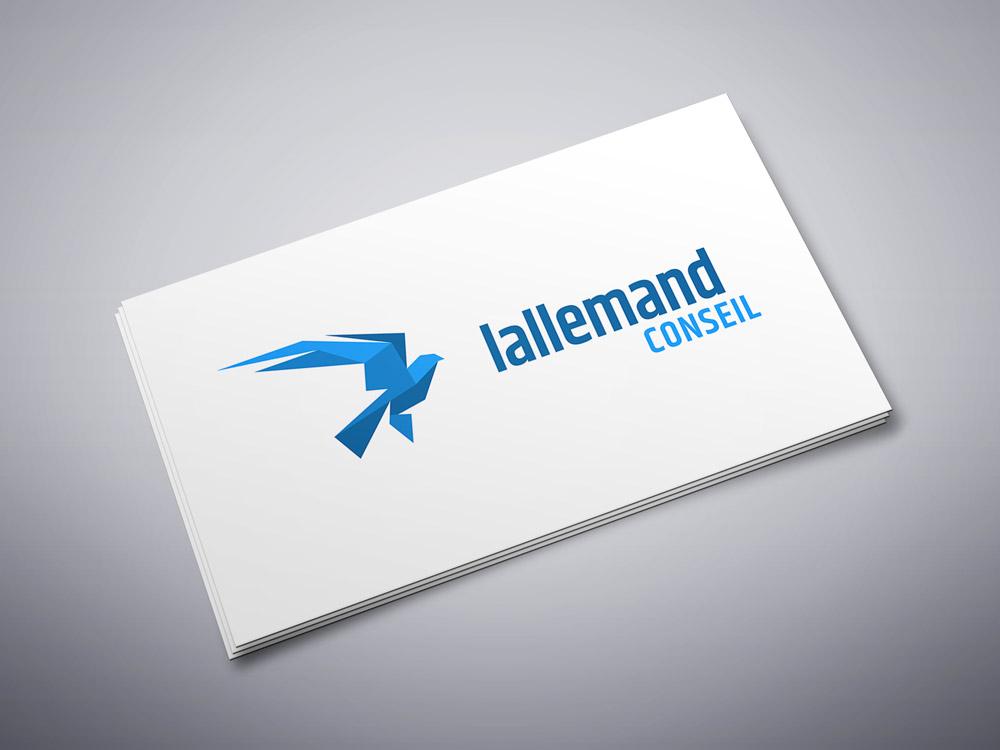 Logo Lallemand Conseil en version horizontale sur fond clair